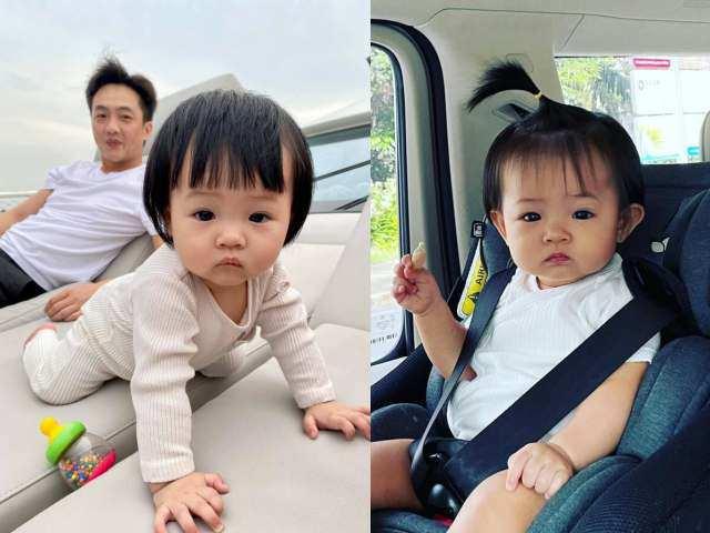 Cường Đô La nâng cấp tài sản cho con gái, chưa 1 tuổi đã làm chủ loạt siêu xe riêng