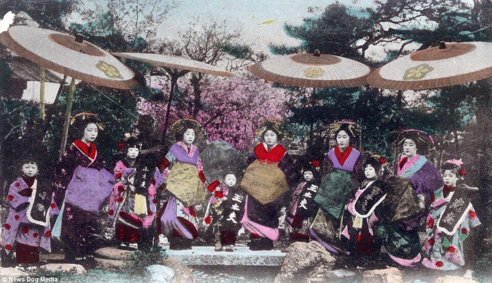 Kỹ nữ được trưng bày trong lồng ở Nhật 100 năm trước và câu chuyện làm đẹp để thoát thân - 6