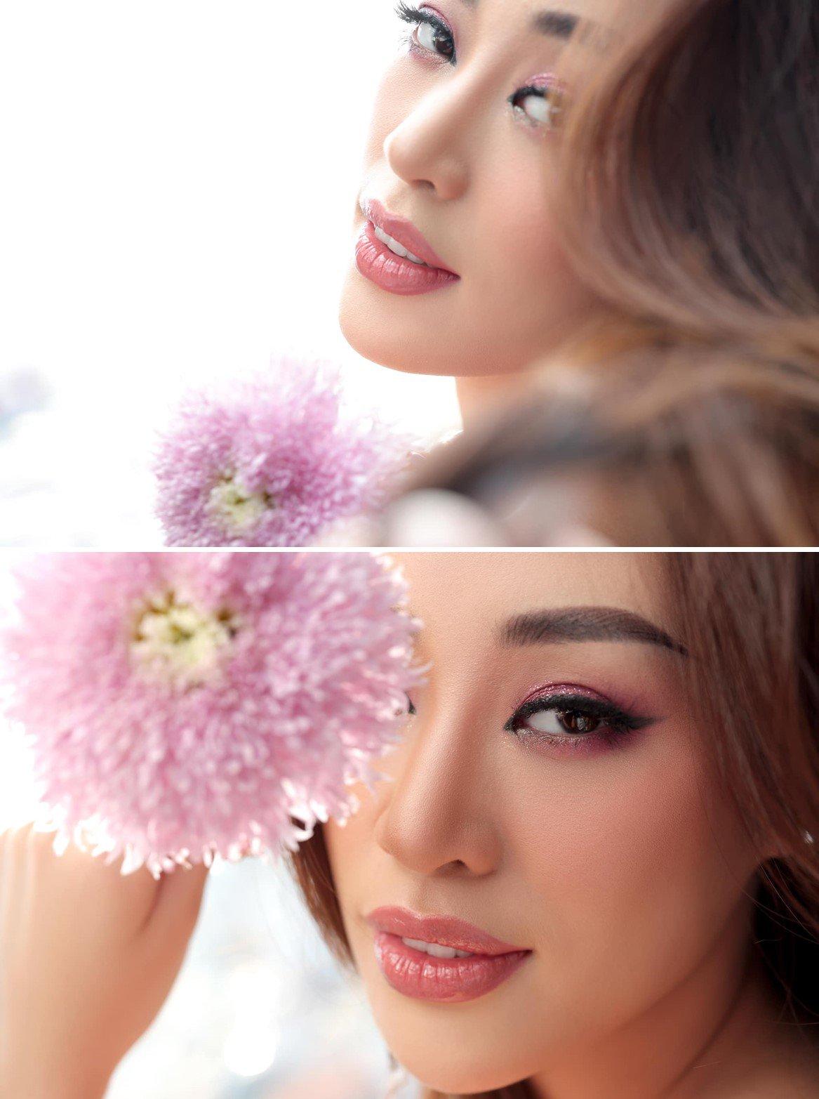 Dàn bông hậu trổ tài tự make-up, Đỗ Thị Hà sơ sài vẫn xinh, nhưng chưa đỉnh bằng Khánh Vân - 8