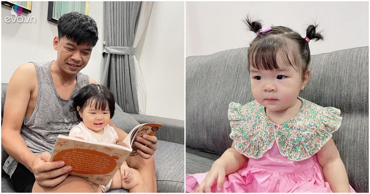 Sao Việt 24h: Con gái kháu khỉnh của Trung Ruồi đọc sách, gương mặt y đúc bố thành tâm điểm