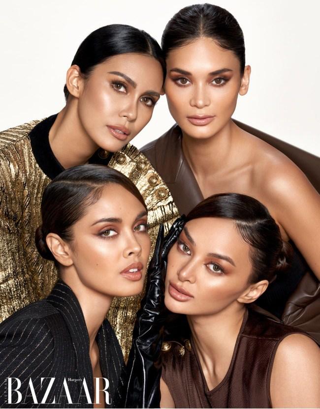 4 nàng hậu đắt giá nhất Philippines diện đầm siêu rách rưới lên bìa tạp chí danh tiếng - 4