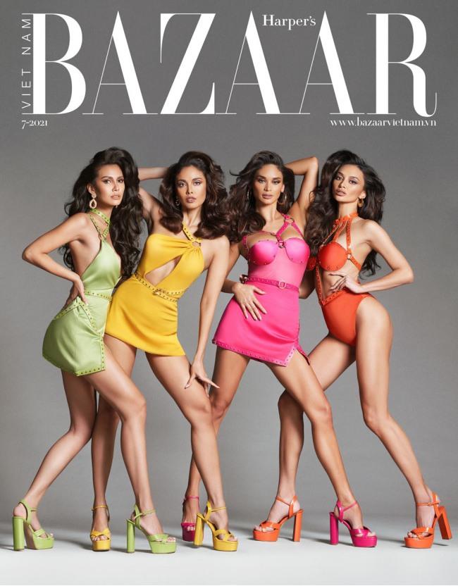 4 nàng hậu đắt giá nhất Philippines diện đầm siêu rách rưới lên bìa tạp chí danh tiếng - 1