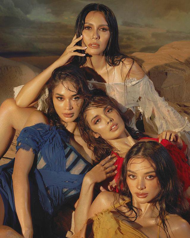 4 nàng hậu đắt giá nhất Philippines diện đầm siêu rách rưới lên bìa tạp chí danh tiếng - 6