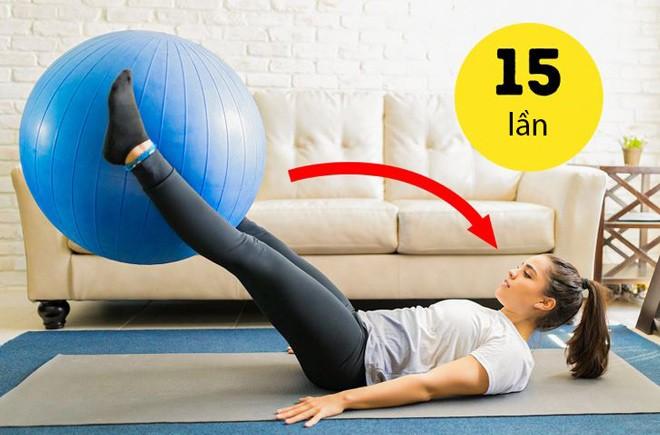 14 bài tập amp;#34;dễ như chơiamp;#34; giúp chị em thêm khỏe, mông nở eo thon, chỉ tốn 10 phút/ngày - 13