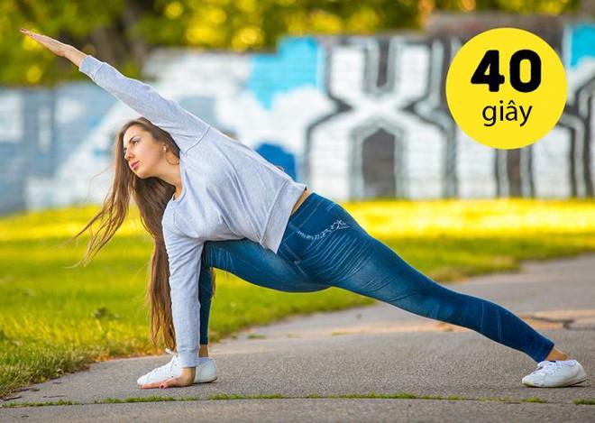 14 bài tập amp;#34;dễ như chơiamp;#34; giúp chị em thêm khỏe, mông nở eo thon, chỉ tốn 10 phút/ngày - 10