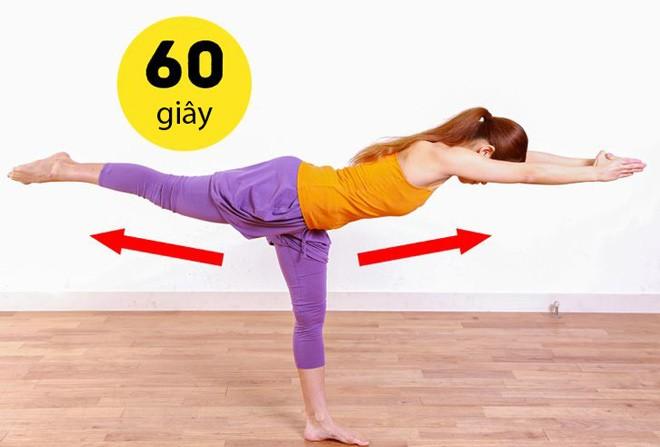 14 bài tập amp;#34;dễ như chơiamp;#34; giúp chị em thêm khỏe, mông nở eo thon, chỉ tốn 10 phút/ngày - 7