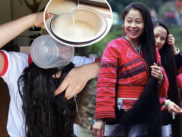 Rẻ-đẹp-dễ: Vo gạo đừng đổ nước đi, học gái dân tộc Thái ủvài tuần, tóc mọc ầm ầm