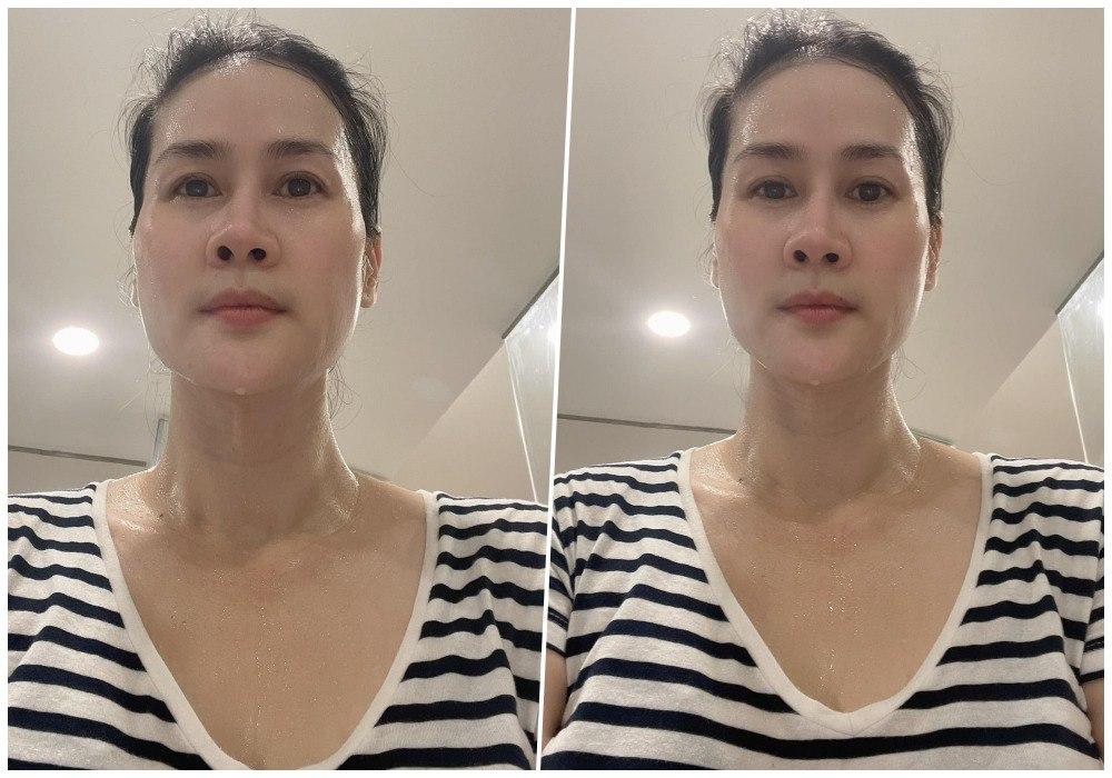 Bạn thân Hà Tăng vô vọng lấy lại dáng ngọc sau sinh, vẫn có làn da nhẵn thín cứu vớt - 4