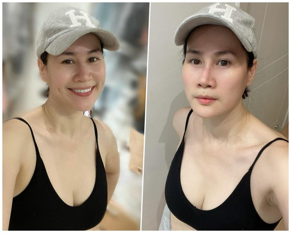 Bạn thân Hà Tăng vô vọng lấy lại dáng ngọc sau sinh, vẫn có làn da nhẵn thín cứu vớt - 9