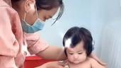 Con gái 6 tháng của DV Minh Đức mắcCOVID-19, cảnh sinh hoạt trong khu cách ly mới thương