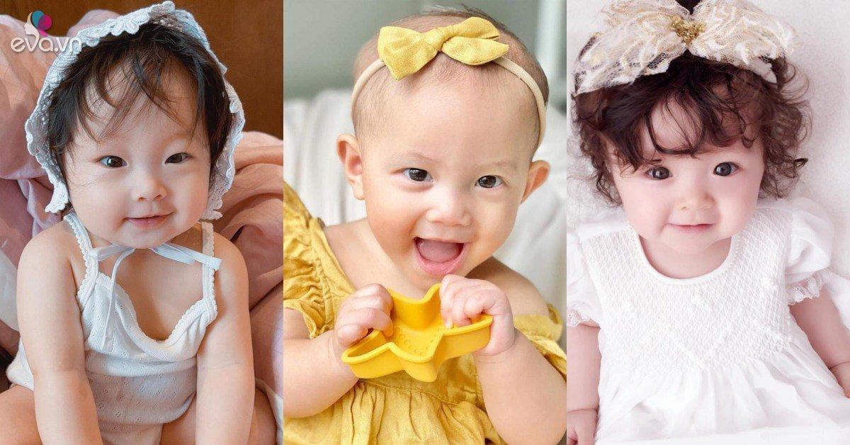 9 em bé xinh đẹp được dự đoán lớn lên trở thành loạt mỹ nhân thế hệ mới