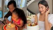 """Phan Như Thảo làm bánh kem """"thiếu đủ thứ"""" tặng chồng đại gia nhưng Đức An vẫn thích"""