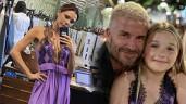 David Beckham bị phản đối vì cho con gái diện váy ren gợi cảm