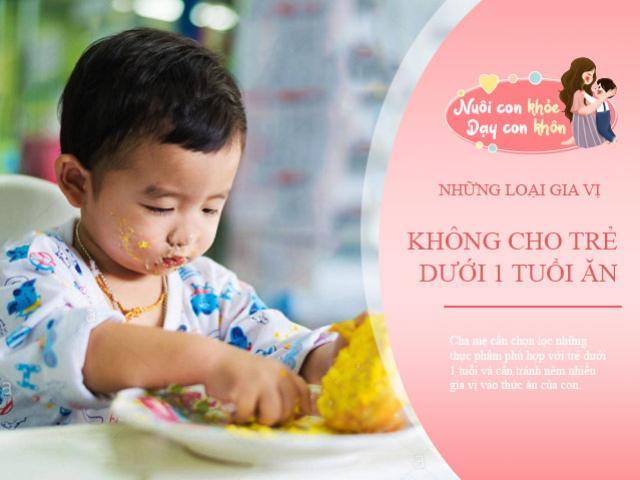 Trẻ sơ sinh ăn nhiều 4 loại gia vị này âm thầm gây hại trí não, mẹ cần tránh
