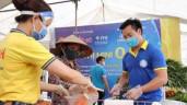 Trải nghiệm đi siêu thị '0 đồng' ở Hà Nội cho người lao động và sinh viên
