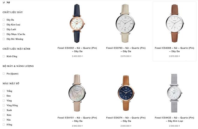 Đồng hồ Fossil xách tay rẻ hơn bao nhiêu khi mua ở Việt Nam? - 5