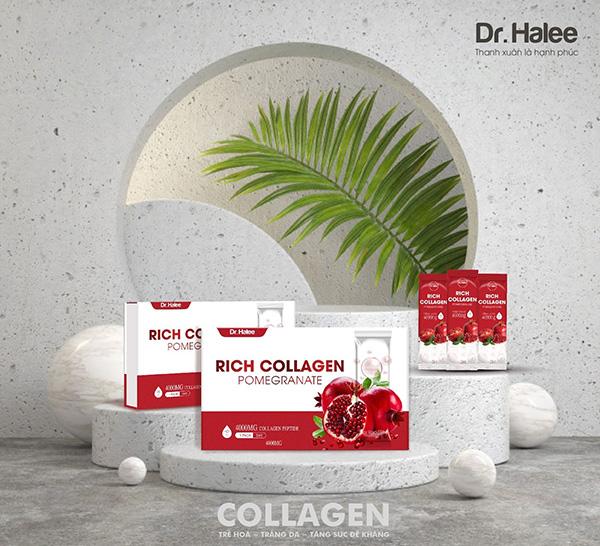 Dr Halee chính thức cho ra mắt dòng sản phẩm Rich Collagen Pomegranate với ưu điểm vượt trội - 4
