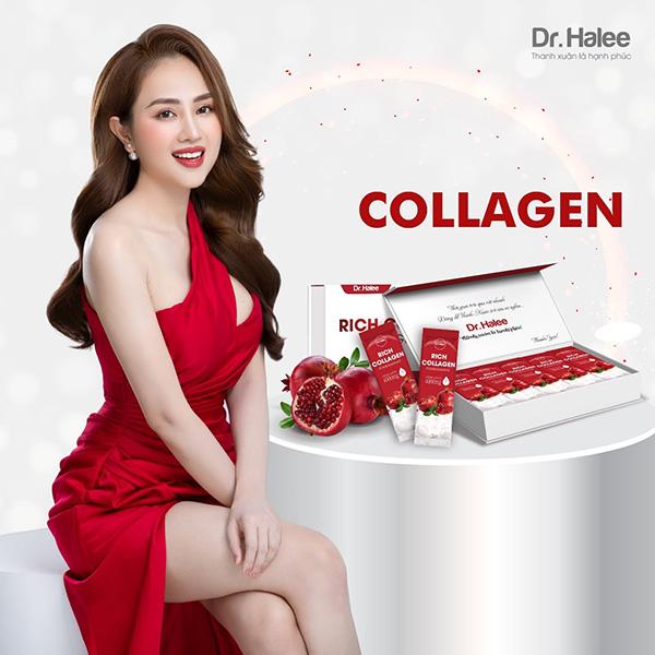 Dr Halee chính thức cho ra mắt dòng sản phẩm Rich Collagen Pomegranate với ưu điểm vượt trội - 1