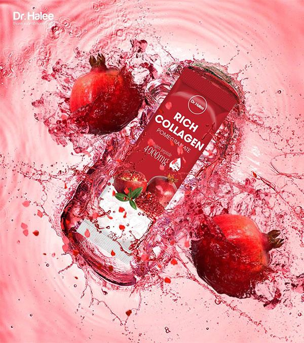 Dr Halee chính thức cho ra mắt dòng sản phẩm Rich Collagen Pomegranate với ưu điểm vượt trội - 2