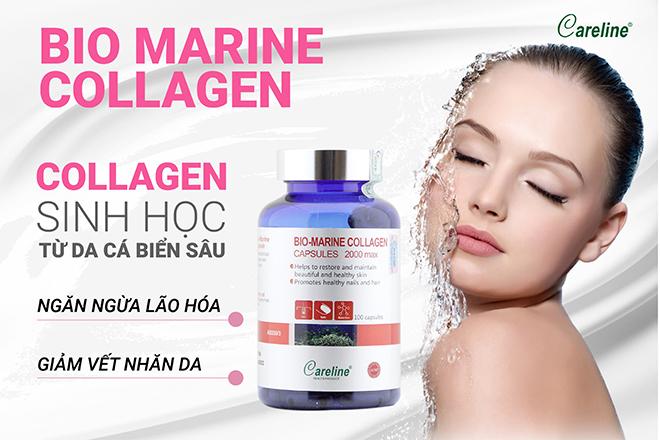 Bio Marine Collagen – collagen sinh học từ cá biển sâu giúp ngăn ngừa lão hóa, giảm vết nhăn da - 4