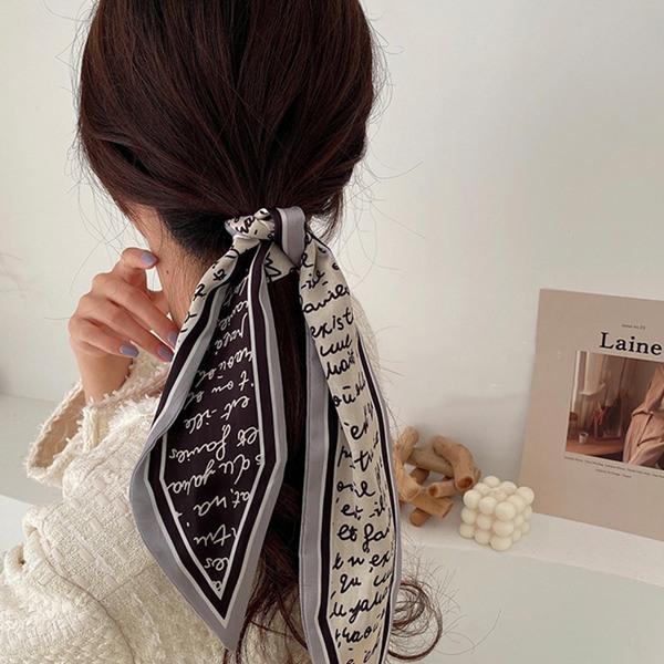 Biến tấu 4 kiểu tóc phong cách Hàn Quốc chỉ bằng 1 chiếc khăn lụa - 1
