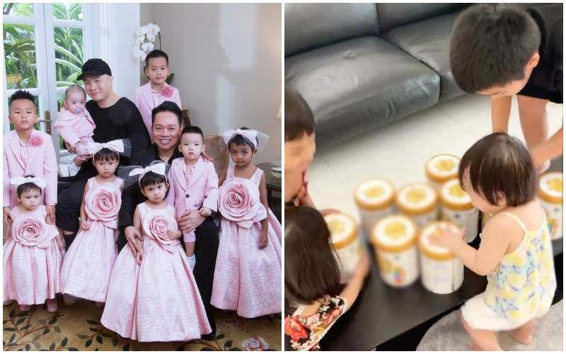Đàm Thu Trang chuẩn mẹ bỉm sữa đại gia, trữ sữa thành núi cho con trong mùa dịch - 5