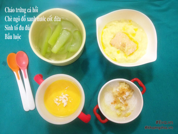 bé 8 tháng ăn được gì? 15 thực đơn dinh dưỡng cho bé đủ chất