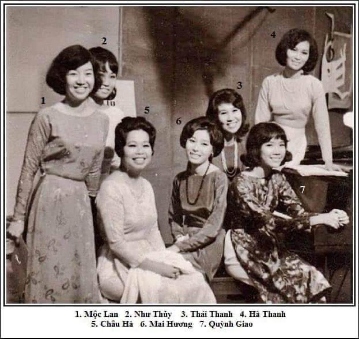 Ảnh chất lượng thấp nhưng nhan sắc chất lượng cao của các giai nhân làng nhạc thập niên 70s - 1