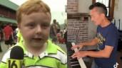 Đoạn phỏng vấn nói như hát của cậu bé biến thành bản hòa tấu Piano hút 2 triệu lượt xem
