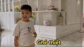 Bố đại gia Long An mẹ hotgirl Bắc Ninh, con trai Hoà Minzy nói giọng Bắc, miền Tây ngọt lịm