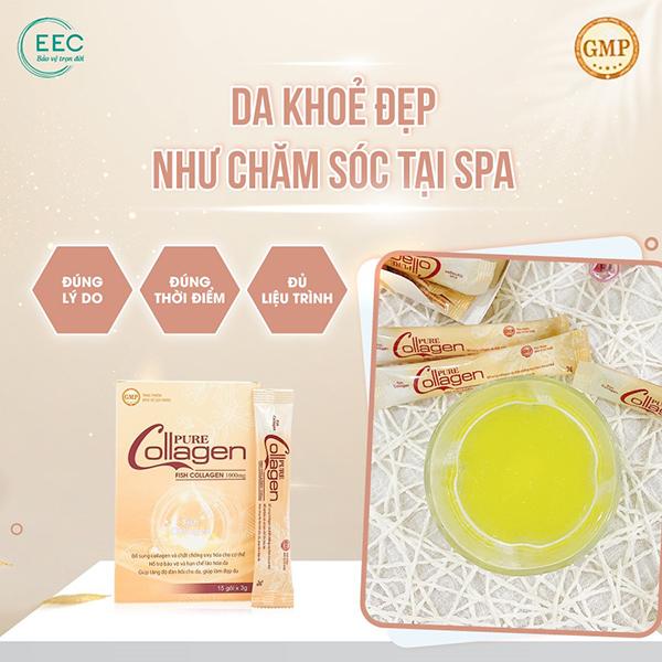 Pure Collagen: 4 tác động vượt trội, xuất xứ từ Ý đáp ứng nhu cầu phụ nữ Việt - 5