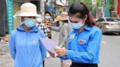 Hàng nghìn thanh niên hỗ trợ lấy mẫu xét nghiệm diện rộng ở Hà Nội