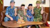 Cặp song sinh nhà MC Hoàng Linh lớn phổng phao, bố dượng làm điều đặc biệt cho các bé