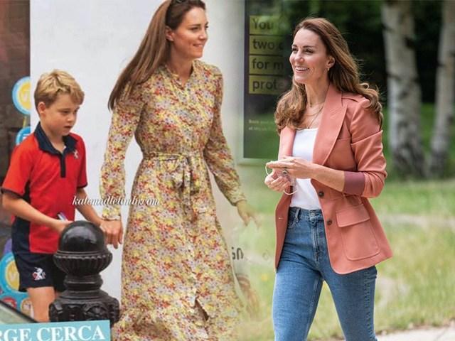 Công nương Kate tái xuất đẹp như nàng thơ, chọn bộ váy khéo léo đáp trảtin đồn mang bầu