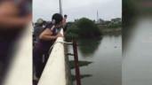 Thượng úy quân đội nhảy xuống sông cứu cô gái bị đuối nước