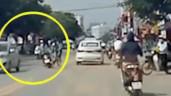 Phóng xe tốc độ cao, nữ sinh gây tai nạn cho 2 người khác