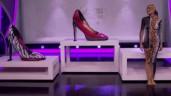 Sửng sốt với màn uốn dẻo cơ thể biến thành những đôi giày khổng lồ