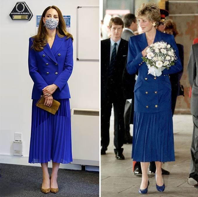 """Công nương Kate đẹp quý tộc với blazer và chân váy,hoá ra mỹ nhân Việt đã """"lăng xê"""" từ lâu - 5"""