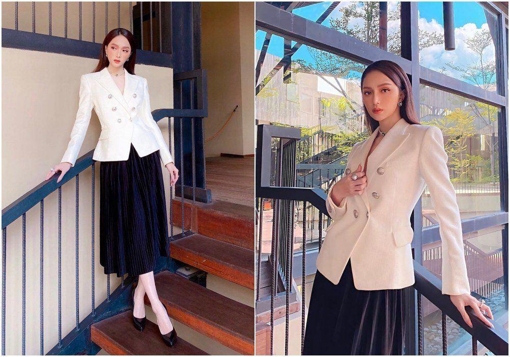 """Công nương Kate đẹp quý tộc với blazer và chân váy,hoá ra mỹ nhân Việt đã """"lăng xê"""" từ lâu - 8"""