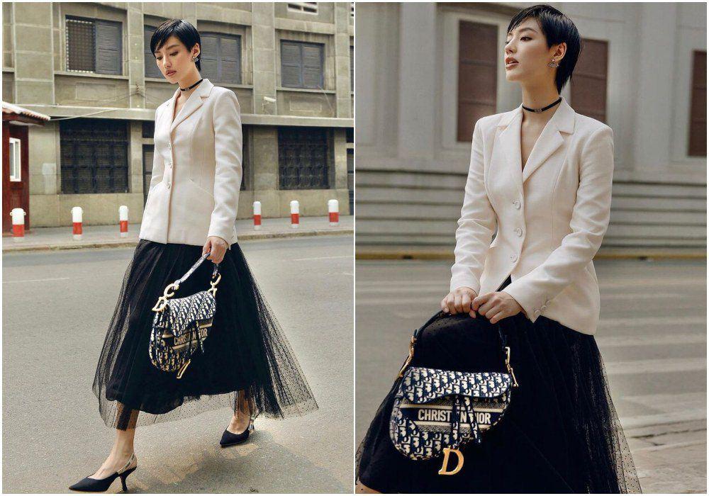 """Công nương Kate đẹp quý tộc với blazer và chân váy,hoá ra mỹ nhân Việt đã """"lăng xê"""" từ lâu - 9"""