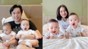 Dương Khắc Linh khoe 2 quý tử sinh đôi trên TV, chia sẻ cuộc sống với vợ kém 13 tuổi