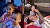 Sao Việt 24h: Ái nữ của Tuấn Hưng và vợ chủ tịch xinh sắc nét, đôi mắt sáng như sao
