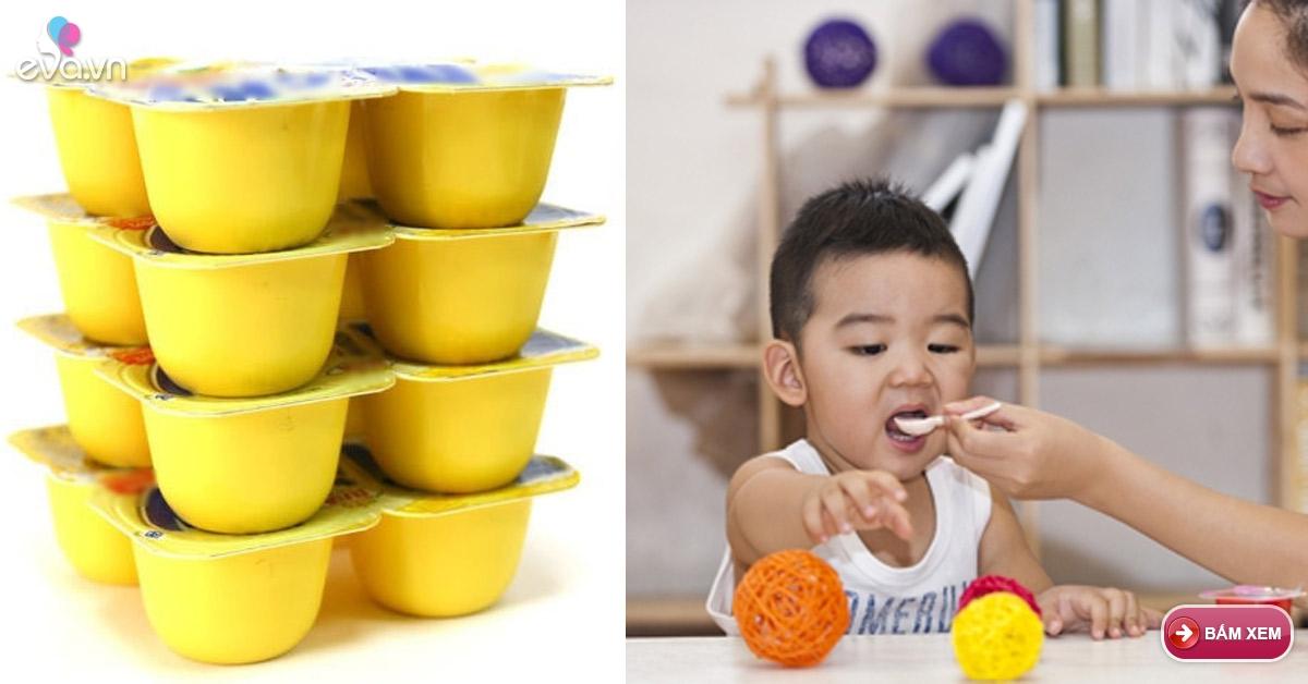 Những trường hợp cho trẻ ăn váng sữa là hại con