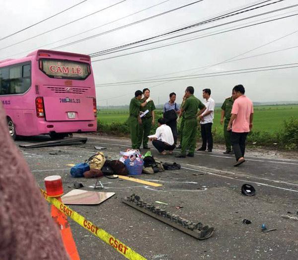 Tai nạn 6 người chết tại chỗ ở Tây Ninh: Đại tang nơi xóm nghèo ven sông Hậu - 2
