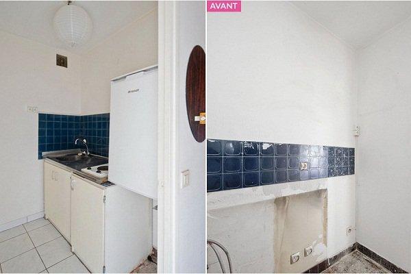 Căn bếp 3m² cũ bẩn amp;#34;từ vịt hóa thiên ngaamp;#34; sau cải tạo khiến nhiều người ngạc nhiên - 1