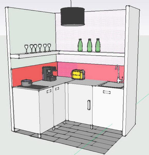 Căn bếp 3m² cũ bẩn amp;#34;từ vịt hóa thiên ngaamp;#34; sau cải tạo khiến nhiều người ngạc nhiên - 3