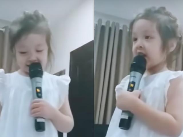 Clip: Cadie Mộc Trà đã bắn tiếng Anh cực siêu dù chỉ mới 4 tuổi