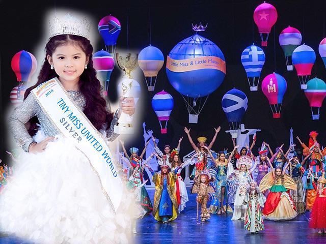 Tiểu Vy chưa thi Miss World nhưng một bé Việt vừa giành Á hậu tại HH nhí Thế giới 2018