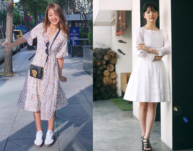 Trong phim mac giong style nhung ngoai doi Kha Ngan va Song Hye Kyo lai khac hoan toan