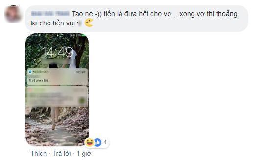 Khoe so thich nop het luong cho vo, ong chong khong ngo minh chang he 'co don'